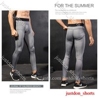 Erkek Şort Fitness Yüksek Atletik Katı Yoga Sıkı Pantolon Yüksek Bel Koşu Yoga Kıyafetler Bayanlar Spor Tam Tayt Pantolon Egzersiz Hızlı Kuru N4