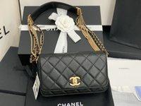 Borsa a tracolla Chanel Top Quality Lussurys Designer Hobo Donne Style Signora CC Guadale in vera pelle Borsa a tracolla Borse a tracolla Borse per borse