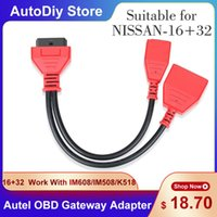 Diagnostic Tools 16+32 Gateway Adapter For Sylphy Key Car Cable & Connector Adding No Need Password Work With IM608 IM508 Lonsdor K51