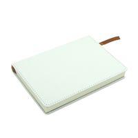 Notebook de sublimação com núcleo interno A4 A5 A6 DIY notebook em branco personalizado Caderno de couro falso Caderno de transferência de calor A12