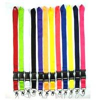 Bretelles de lanière de téléphone portable Vêtements Marque de sport pour les clés Chaîne carte d'identité Titulaire de la boucle détachable Lanières DHL