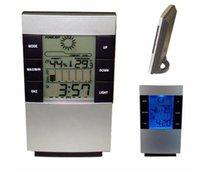 GADGETS ELECTRÓNICA LED Pantalla LCD LCD Digital Digital Medidor de humedad con un higrómetro de termómetro de alarma de retroiluminación