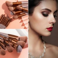 Makeup Brushes With Bag Powder Foundation Multifunctional Concealer Highlighter Cosmetic Tool Brush Set Beauty