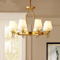 Pendant Lamps Modern LED Chandelier Lighting Wrought Iron Euro Creative Chandeliers Home Fixture Hanging Lamp For Living Room