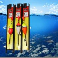 Fishing Accessories 3pcs Bobber Line Kits Fishhook Foam Buoy Rock Floats Set Drift Vertical Pesca Tool