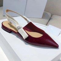 Moda de lujo diseñador mujer sandalias femenino nuevo verano zapatos puntiagudo escalonado tamaño35-42