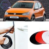 10M Автомобильная уплотнительная полоса резиновой отделкой для Volkswagen VW серии Golf Polo Jetta Tiguan звукоизоляция внутренняя сталь PVC защитник против столкновения