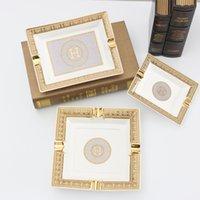 Porcelana Charuto cinzeiro Múltiplo tamanho fumar acessórios clássicos designs cerâmicos bandejas presente decorativo para o namorado C0310
