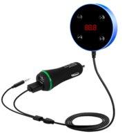 Nouveau émetteur FM Kit de voiture BT BLUETOOTH 3.0 Dual USB Charging