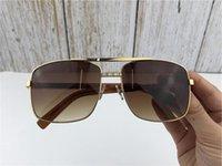 2021 Die neue Listing Herren Großhandel Sonnenbrillenrahmen Haltung Sonnenbrille Verschreibungspflichtiger Mode-Stil schützt Augen Unisex