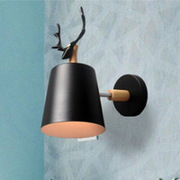 wooden wall lights bedside wall lamp sconce modern light for...