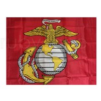 50 шт. 90x150 см США Морские корпусные флаги Соединенные Штаты Американских США США Армия USMC Морской корпус Флаг 3x5fts Rra4200