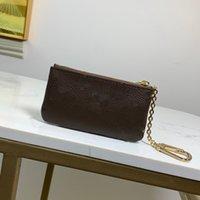 Luxurys Designer-Taschen Fashion Womens Herren Schlüsselanhänger Kreditkarteninhaber Münze Geldbörse Luxus Mini Brieftasche Tasche M69508 M80696 N62659 N62658