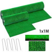 Decorative Flowers & Wreaths Green Artificial Grass Floor Mat Synthetic Landscape Lawn Garden Carpet Rug Fake Turf Home Moss Flo