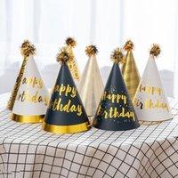 День рождения шляпы дети взрослых торт шляпа дна день рождения украшения день рождения шляпы 11 * 18см 8 стиль AHA4123
