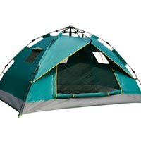 Tents And Shelters Selling Outdoor Camping Rainproof Tent Double Three-window Automatic Quick-opening