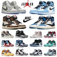 air jordan retro 11s 1s erkek basketbol ayakkabıları jumpman Jubilee 11 Twist Obsidian koyu mocha 1 siyah bred toe yasaklanmış üniversite mavi erkek kadın eğitmenler spor ayakkabı