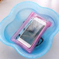 Yüzer Yüzme Telefonu Torbaları Sualtı Evrensel Hücre Plaj Dalış Için Evrensel Hücre Fonecover Hava Yastığı