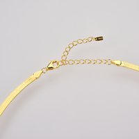 925 Sterling Andywen Silver Gold Chain Necklace Choker 2020 Ovals Zircon Crystal Luxury Fashion Jewels Rock Punk Gift Party YLQ0