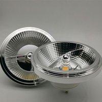 전구 1pcs 10W 15W Dimmable 임베디드 AR111 G53 LED 다운 램프 GU10 스포트 라이트 ES111Warm 차가운 흰색 스포트 라이트 AC85-265V DC12V