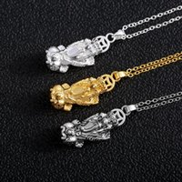 Pendant Necklaces 3 Styles Auspicious Brave Troops Mythical Wild Animal Necklace For Women Men Lucky Jewelry Party Accessories Birthday Gift