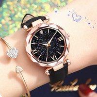 Mens Watches Luxury Watch Women's Simple Vintage Stars Point Frosted Belt Casual Sport Clock Dress Wrist Women woman