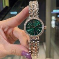 Moda Lady Saatler Ins Tarzı Kuvars Hareketi Safir Ayna İzle Kol Saati 316 Paslanmaz Çelik Bant Moda Tasarım-İzle 28 mm