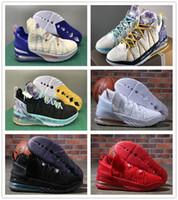 Le riflessioni J18 flip los angeles di giorno nero bianco blu uomini scarpe sportive atletiche 18s mens sneaker all'aperto con scatola