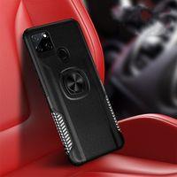Armor Phone Case для OPPO Realme C15 C12 C11 5 A92S ACE 2 Найти X2 Pro A9 2020 A11X Магнитный кольцевой кронштейн для подставки для подставки