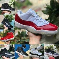 Air Jordan 11 retro jordans Nike Vendre Jubilee Pantone Bred 11 11s Chaussures de basketball 25e Anniversaire Space Space Confiture Gamma Blue Pâques Concord 45