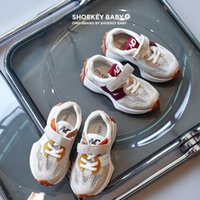 2021 Autumn Children Sneakers Baby Boys Casual Shoes Girls Toddler Shoes Infant Sports Running Kids Shoes Soft Bottom H0917