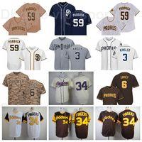 Vintage Baseball 59 Chris Paddack Jersey 6 Steve Garvey 3 Ian Kinsler 34 Rollie doigts Retro 1978 1984 1948 Tourner l'horloge arrière
