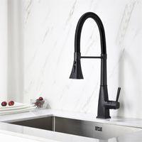 Faucets de fazenda de torneira de lavatório de pia de cozinha única com pulverizador