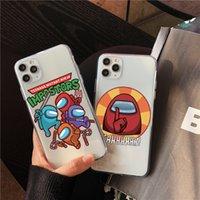Moda Bonito entre nós Capa de telefone do Iphone 12 Mini 11 Pro Max 7 8 Plus X XR XS Max SE 2020 Capa Capa Suave Caixas