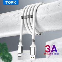 Topk Yeni Varış AN07 Manyetik Depolama Geri Çekilebilir Hızlı Şarj Kablosu Veri Sync Mikro USB Tipi C Telefon X 12 Evrensel FY7430