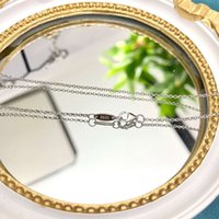 HBP Shipai New Pearl Collarbone Chain S925 Forma de prata esterlina com versátil colar pingente