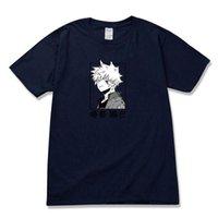 Erkek t-shirt benim kahraman Academia karikatür erkek japonya anime adam giyim boyu mürettebat boyun t shirt moda komik erkek tişörtleri