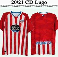 20 21 CD Lugo Hugo Rama Chris Ramos Mens Soccer Jerseys Barreiro Herrera Pedro Camisa de Futebol Calcio Uniformes