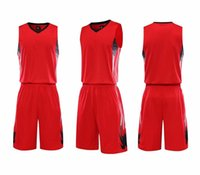 할인 저렴한 남자 훈련 농구 팬티 유니폼을 가진 농구 세트 그 집과 멀리있는 봐 키트를위한 뒤집을 수있는 농구 유니폼