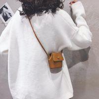 Wallets Mini Pouch Women's Bag 2021 Cute Texture Messenger Shoulder Small Square