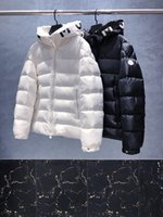 Tasarımcı Erkek Kış Salzman Aşağı Ceketler Parkas Işık Rüzgarlık Hoodie Monler Siyah Beyaz Kirpi Giyim Adam İtalya İtalyan Lüks Giysi Mont Giyim