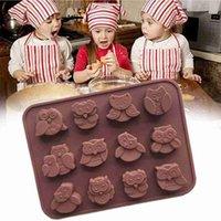 12 fori Guwl FAI DA TE torta in silicone stampo sapone cioccolato biscotto stampo strumenti di cottura