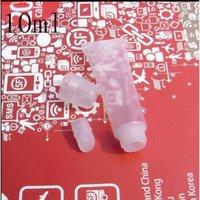 50 قطع 10 ملليلتر واضح لوسنك البلاستيك فارغة الشفاه بلسم لمعان أنابيب زجاجة الجملة حاويات التجميل النفط التعبئة والتغليف مصغرة أحمر الشفاه