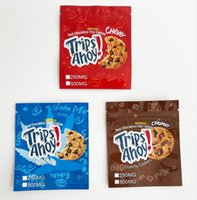 Viagens Ahoy Edibles Embalagem Mylar Bags 250mg 500mg Stand up Chewy Chunky Canna Manteiga de Chocolate Real