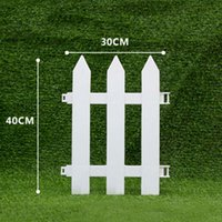Biały PCV plastikowy ogrodzenie europejski styl do ogrodu podjazdów bramki choinki TS3