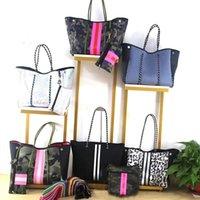 Evening Bags 2021 Fashion Casual Tote Bag Top-Handle Shoulder Luxury Diving Fabric Neoprene Breathable Handbag
