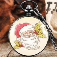 Pocket Watches Antique Watch Quartz Clock Cartoon Exquisite Pattern Necklace Pendant Gift For Children Christmas