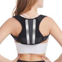 Brace Support Belt Cintura regolabile Postura posteriore Correttore Clavice Spine posteriore posteriore spalla Postura Lombare Correzione del dolore