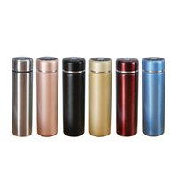 Mugs 316 Stainless steel LED Temperature Display Double Wall Vacuum Insulated Water Bottle Stay Hot Cold for 24 Hrs 10004