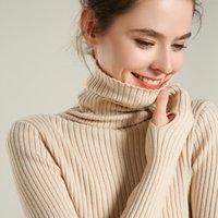 Sherhure 2021 плюс размер белый вязаный с длинным рукавом. Восстанавливает женский розовый свитер и пуловеры тянуть Femme Tricot